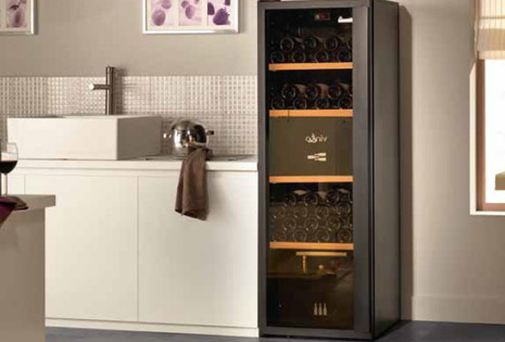 armoire cave a vin armoire vin 120 bouteilles 270l achat. Black Bedroom Furniture Sets. Home Design Ideas