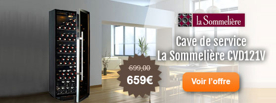mon avis sur les caves vin la sommeliere. Black Bedroom Furniture Sets. Home Design Ideas